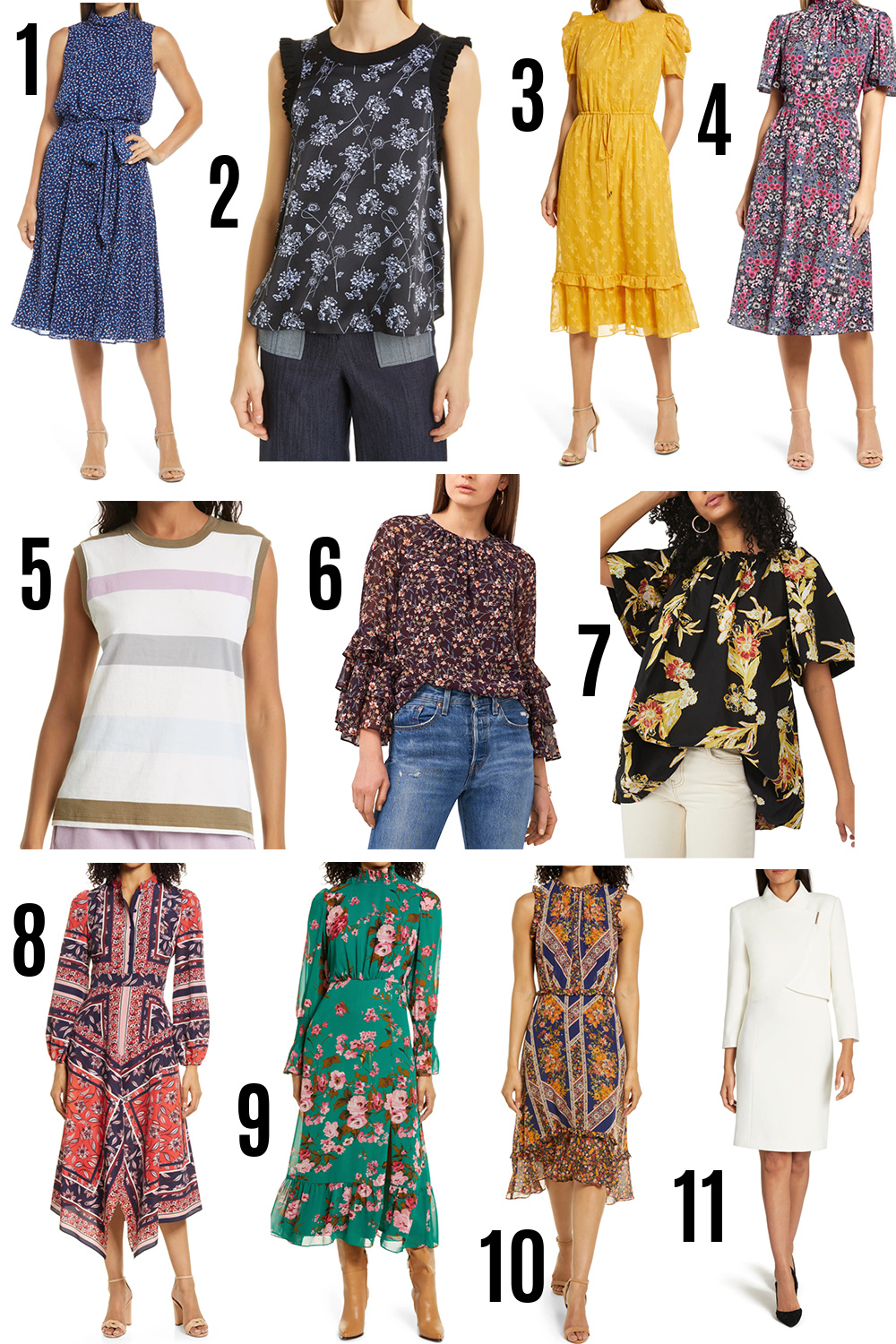2021 Nordstrom Anniversary Sale I Dresses and Blouses