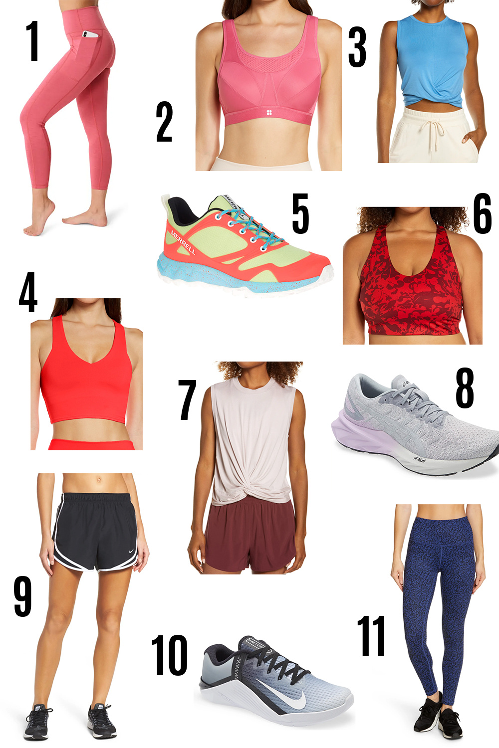 2021 Nordstrom Anniversary Sale Guide I Workout Gear #fashionstyle #fitness