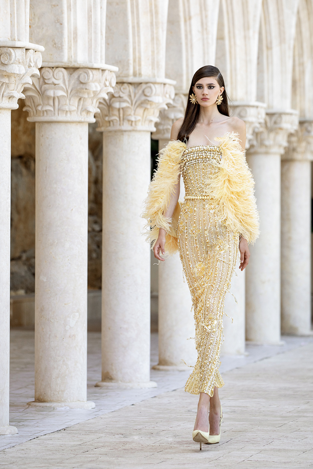 Georges Hobeika Fall 2021 Couture Collecdtion I DreaminLace.com #couture #fashionblog