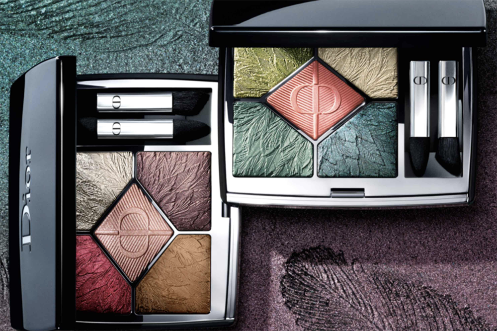 August 2021 Makeup Releases I Dior Fall 2021 Birds of a Feather Collection Eyeshadow Palettes #makeupaddict #beautyblog
