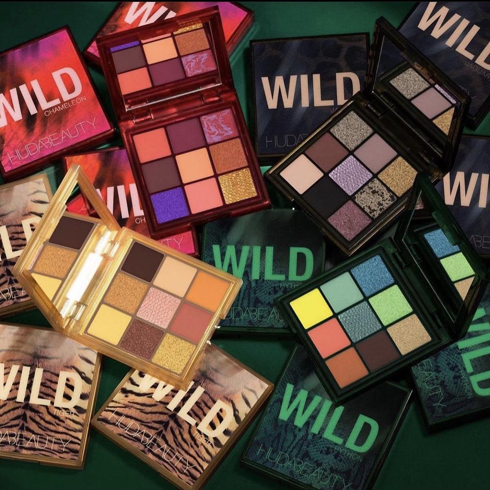 August 2021 Makeup Releases I Huda Beauty Wild Eyeshadow Palette Collection #makeupaddict #makeup #beautyblog