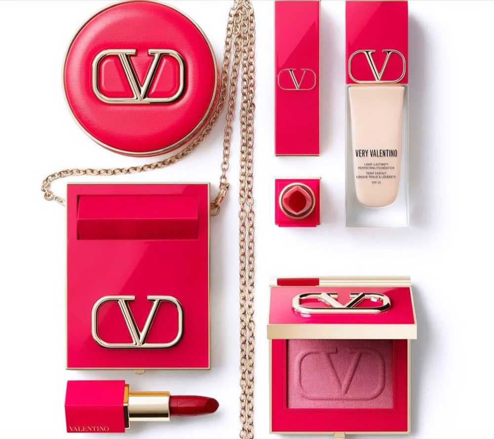 August 2021 Makeup Releases I Valentino Makeup Collection #makeupaddict #beautyblog