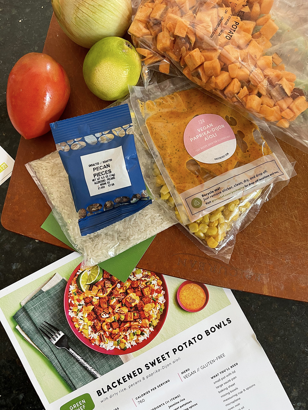 Green Chef Plant Powered Meal Plan Review I DreaminLace.com #mealplanning #plantbased