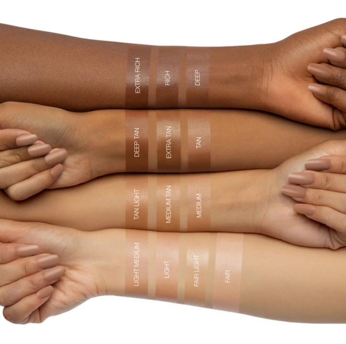 Huda Beauty GloWish Skin Tint Review I DreaminLace.com #makeupaddict #beautyroutine #crueltyfreebeauty