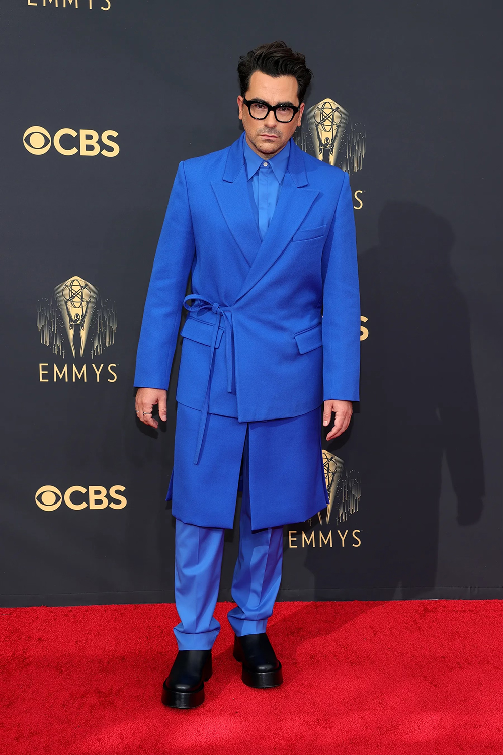 Best 2021 Emmys Fashion Moments I Dan Levy in Valentino Haute Couture #fashionstyle