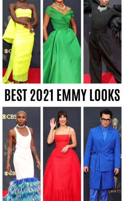 10 Best Dressed Stars at the 2021 Emmy Awards