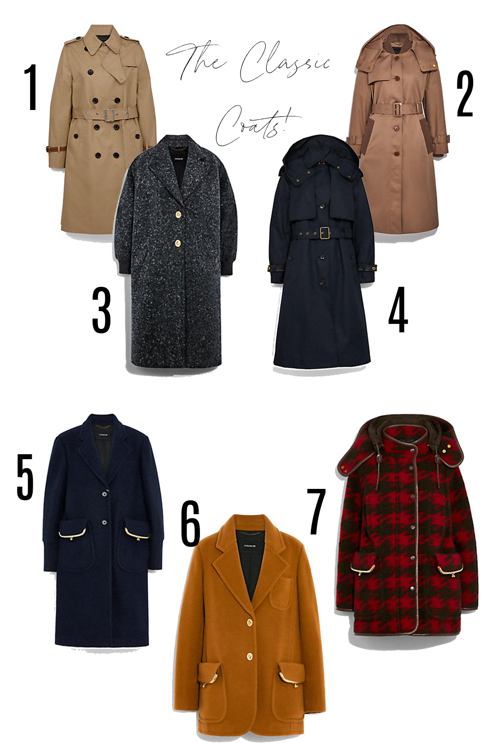 COACH Fall 2021 Collection I Classic Trench and Overcoats #fashionstyle #ootdstyle