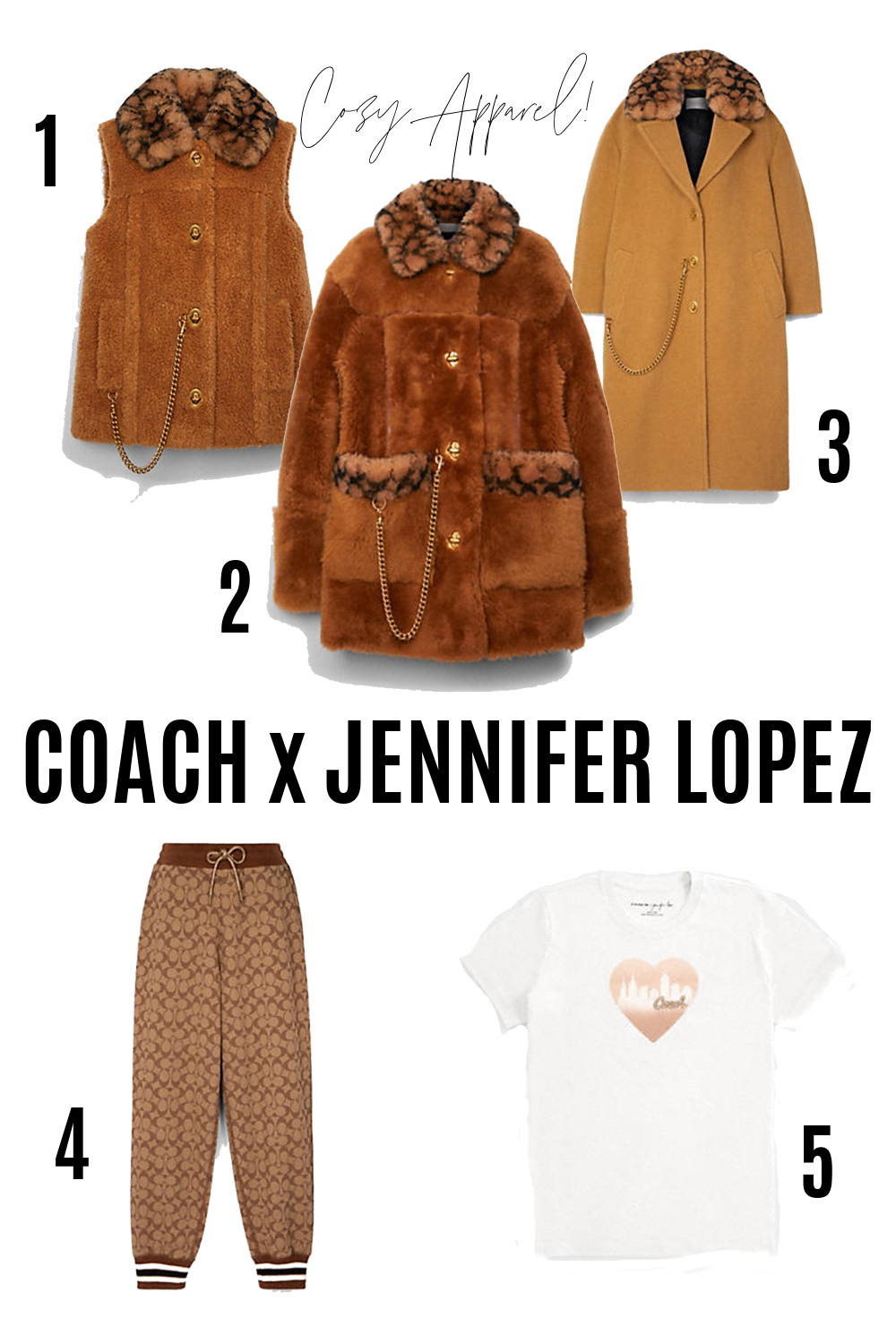 COACH Jennifer Lopez Collection I Cozy Apparel #ootdstyle #fashionstyle