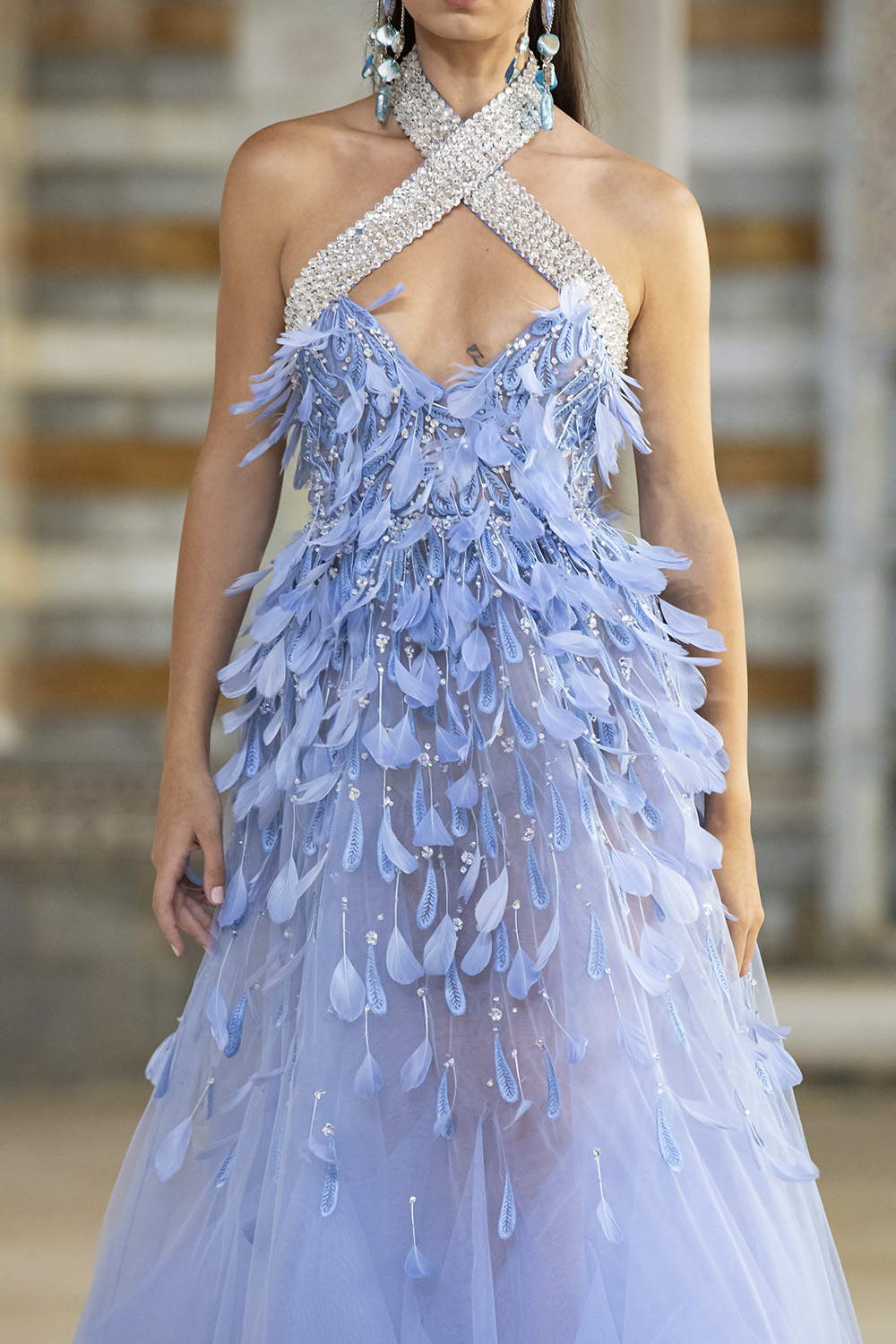 Georges Hobeika Spring 2022 Ready-to-Wear Collection I DreaminLace.com #fashionstyle